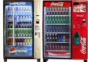Columbus Soda Beverage Vending Machines